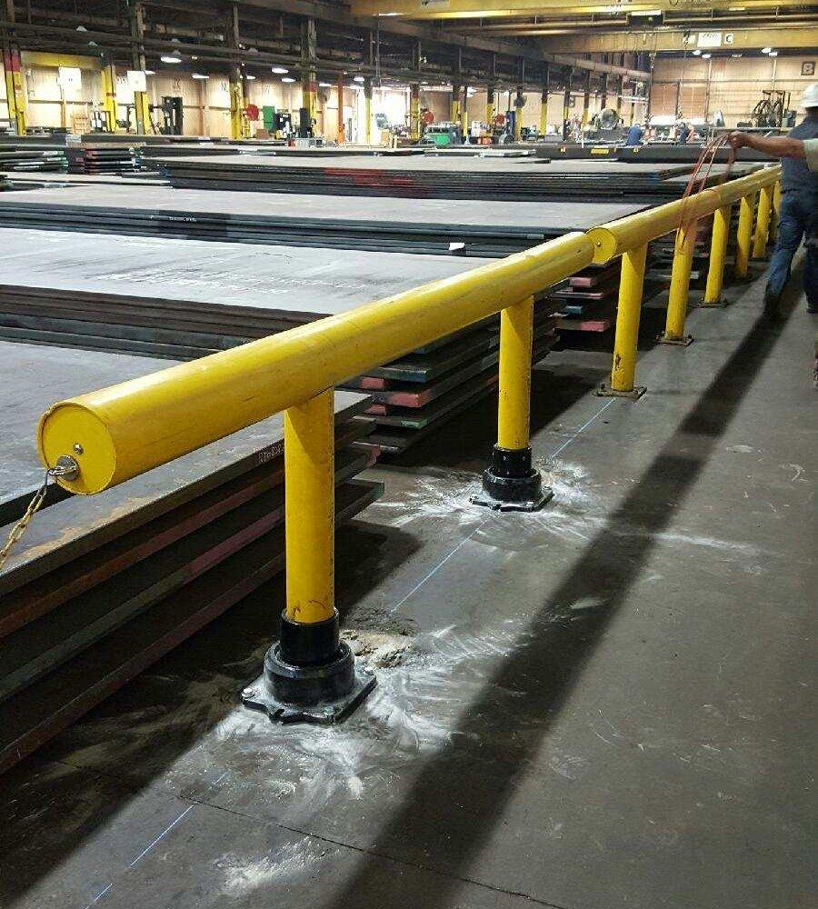 Alro Steel Retro-Fit using Type 2.5 SlowStop Pedestals