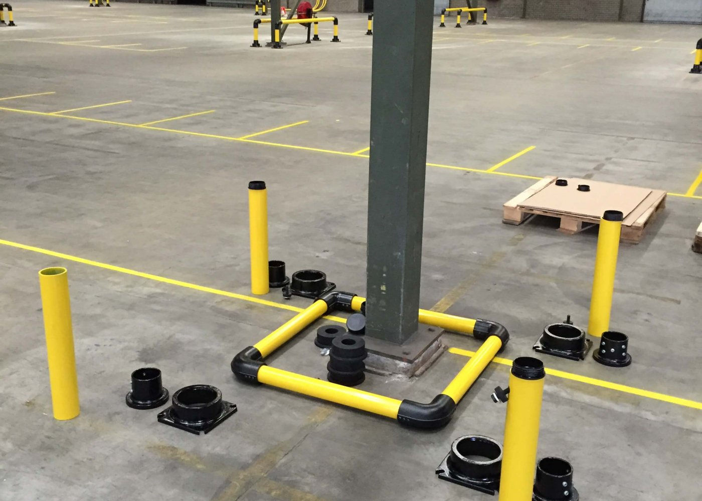 Column Protector Installation Pieces