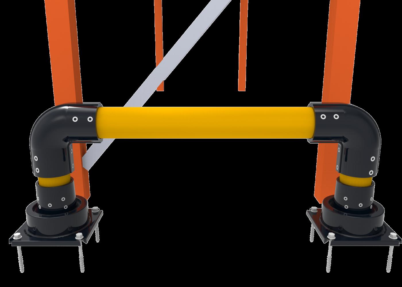 Horseshoe Rack End Protector