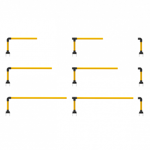 SS3Y-SF Modular Rail Sections