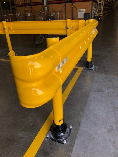 "4"" Flexrail Guardrail"
